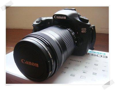 ☆°° 【原廠Canon 】EOS 60D 公司貨 單眼數位相機 18-135mm 送8G 偏光鏡 相機包 基隆市