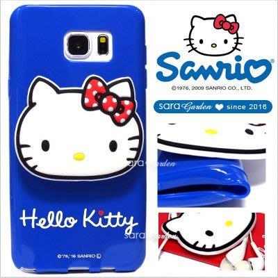 Hello Kitty 正版 三星 S7 Edge Note5 手機殼 軟殼【D0220220】