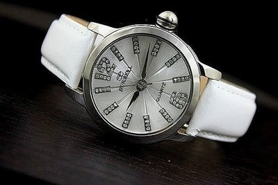 台灣精品東森購物強打burrell貝瑞爾不鏽鋼錶殼傘型切割錶鏡防水石英錶