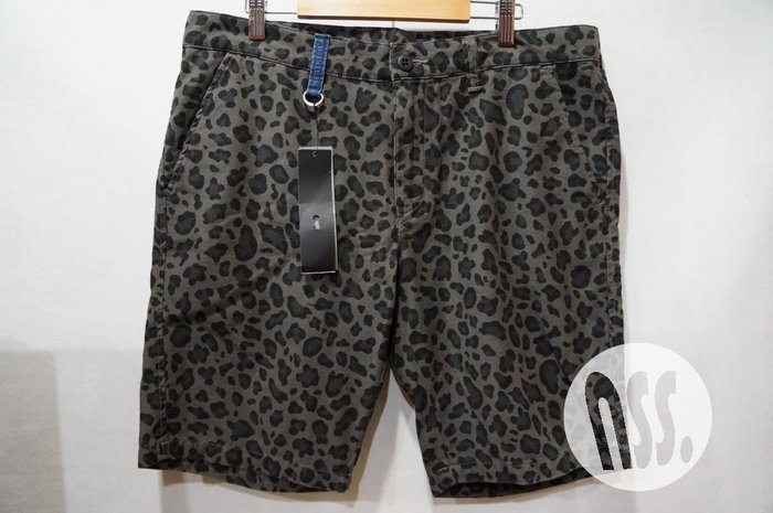 特價「NSS』uniform experiment UE LEOPARD SHORT PANT 豹紋 短褲 M L XL