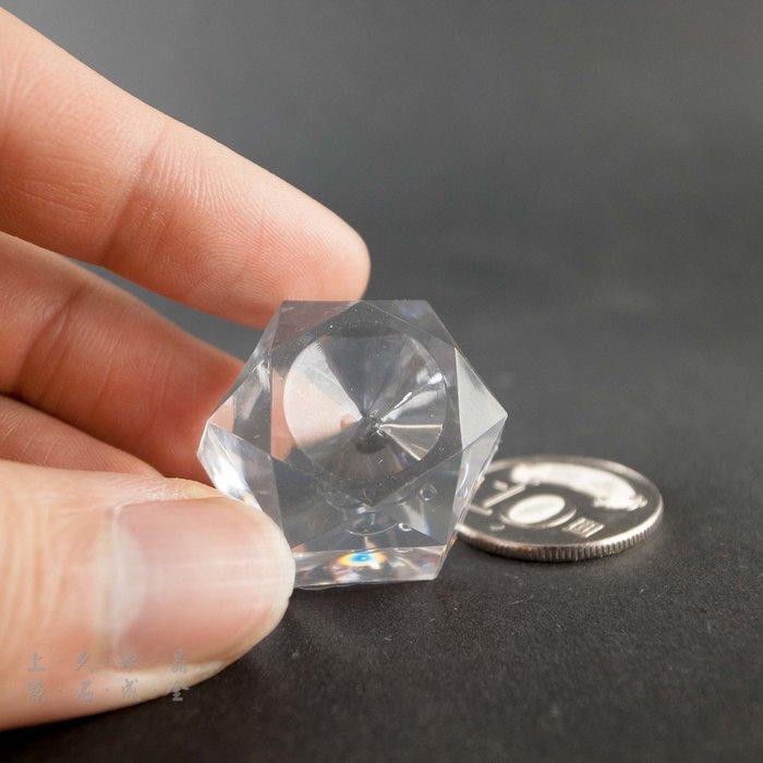 『上久水晶』【壓克力球座】【寬2.5cm】【適用:20mm~30mm球】【10元一個】