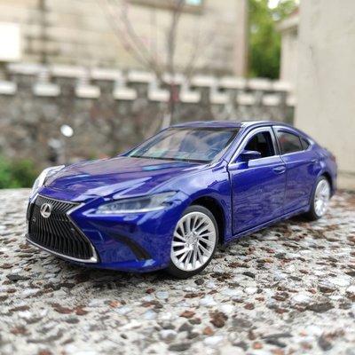 Lexus ES 凌志ES車系 1/32 金屬模型車 四輪避震 前輪轉向 ES300h