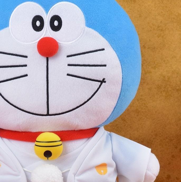 41+ 現貨免運費 日本景品 日空版 小叮噹 哆啦A夢 和服 造型 絨毛玩偶 禮物 擺飾 小日尼三