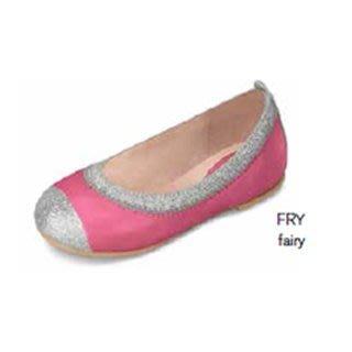 【愛寶貝】澳洲Bloch 銀邊芭蕾舞鞋(小童)_BT410P_FRY