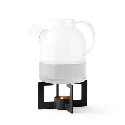 Luxury Life【正品】Menu Cast Tea Heater 凱斯系列 黑色金屬 茶壺 保溫底座