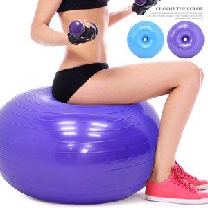 加厚甜甜圈瑜珈球50CM蘋果球坐墊球抗力球彈力球韻律球健身球彼拉提斯球防爆復健球體操球大球操B005-5216⊙哪裡買⊙