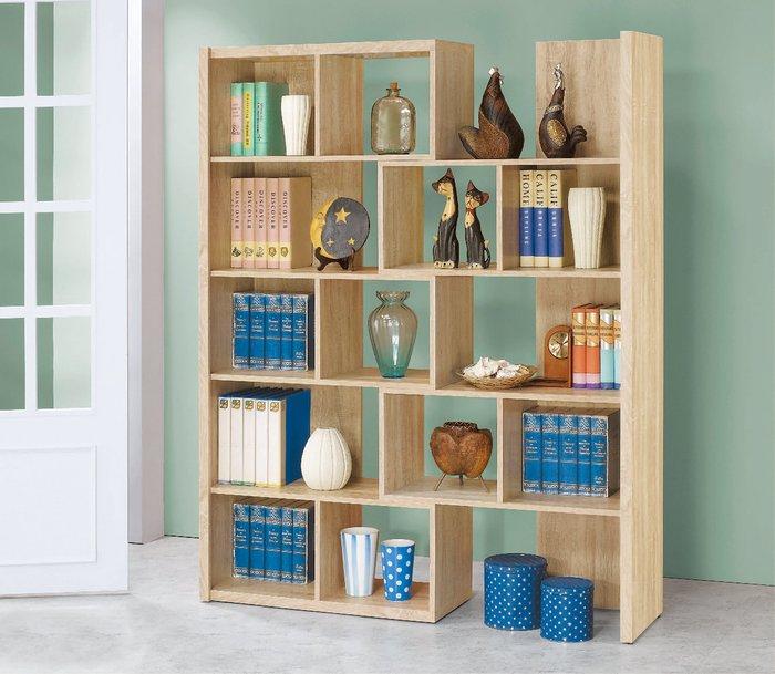 【南洋風休閒傢俱】書架 書櫃 書櫥展示櫃 收納櫃 造形櫃 置物櫃系列-原切橡木2.7*6尺伸縮書櫃CY414-99