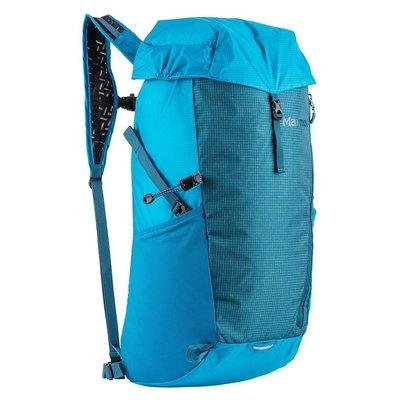 歐美代購 Features:  - Airmesh Shoulder Str 攻頂包 登山背包 小背包 灰 藍 一日健行
