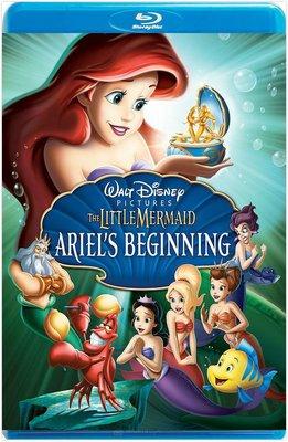 【藍光電影】小美人魚3 / THE LITTLE MERMAID: ARIEL'S BEGINNING(2008)