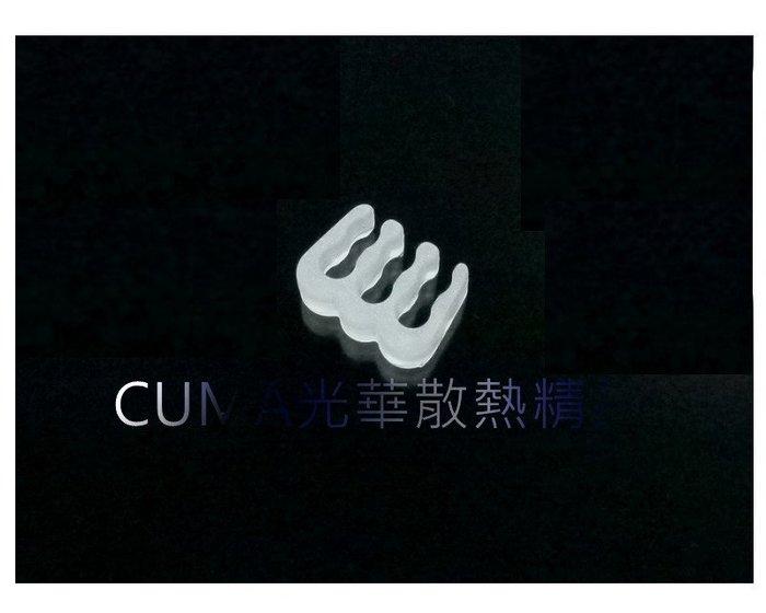 光華CUMA散熱精品*整線材料 PVC 蛇皮網 編織網 理線排 理線梳 6PIN 顯示卡6PIN用 白色~現貨