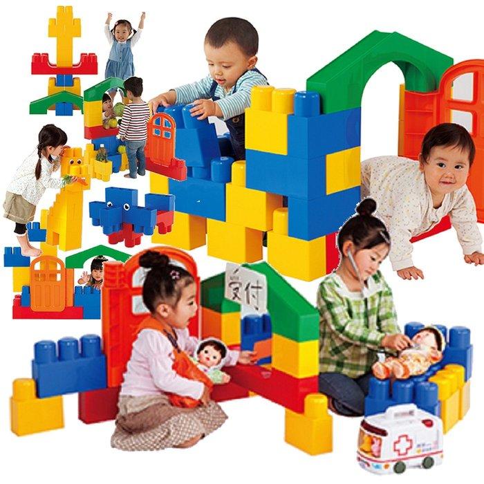 People 全身體感大積木-空間遊戲組合 §小豆芽§ 日本People 全身體感大積木-空間遊戲組合
