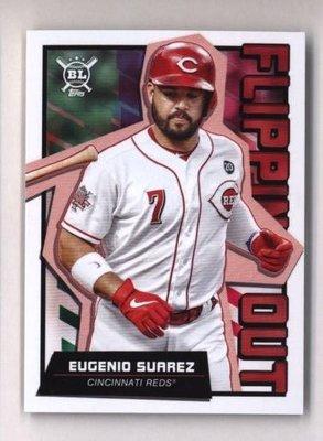 特卡 2020 Topps Big League Flipping Out #FO-3 Eugenio Suarez