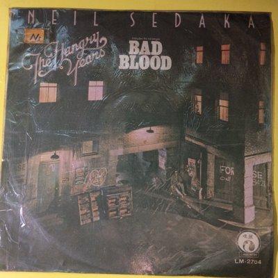 Q2黑膠唱片 NEIL SEDAKA BAD BLOOD