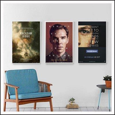 模仿遊戲 鋼鐵英雄 社群網戰 電影海報 藝術微噴 掛畫 嵌框畫 @Movie PoP 賣場多款海報~