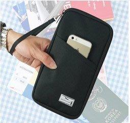 Wellhouse護照包 機票護照夾 多功能男女士證件包錢包