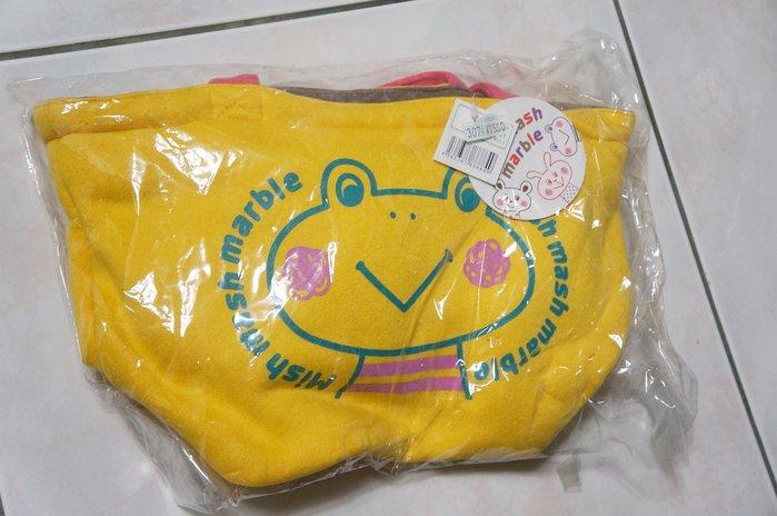 瘋日本*出清價350元 Mish Mash 鄉村雜貨風 - 塗鴨風 蛙蛙 動物 厚棉材質質感佳 手提包