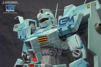 G-System GS-176  1/60 PG RGM-79N 高性能型吉姆 {改裝套件} 高達手辦模型 Gundam resin model RX78