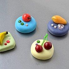 鮮果磁鐵 ~~樹脂土(黏土) 超輕土 手工 禮物 教師節 聖誕節 畢業 禮品【Ot Craft House】