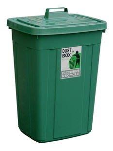 315百貨~大廈大樓必備~CS95 CS-95 特大方型資源回收筒(95L)*1入組 / 萬能桶 廚餘桶 萬年桶 分類桶