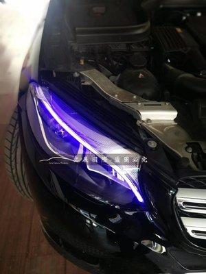 BENZ賓士GLC大燈一抹藍GLC300GLC43GLC250