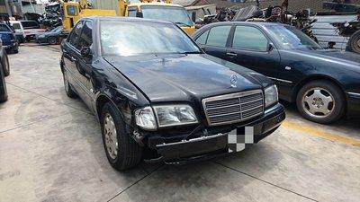 報廢車 零件車--賓士BENZ C240 W202 零件拆賣