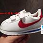 Washoes Nike KIDS Cortez PSV 阿甘 白藍紅...