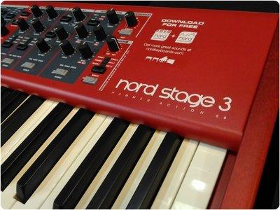 ♪♪學友樂器音響♪♪ Nord Stage 3 HA88 旗艦級合成器 鋼琴鍵