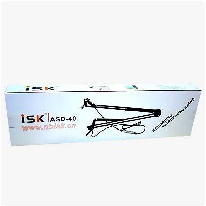 ISK ASD-40電容式/動圈麥克風雙用 360度懸臂風金屬支架(贈線材x1) 送166種音效補件軟體
