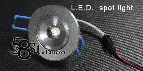 【58街】設計款式「LED崁燈,3W_燈頭可調角度,採用晶元光電芯片」LED杯燈、LED燈泡。GC-122