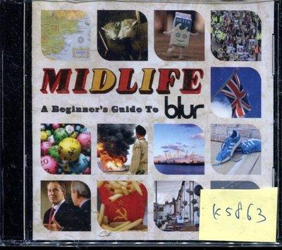 *真音樂* BLUR / MIDLIFE 2CD 二手 K5863(封面底破.CD有缺口不影響讀取)  (清倉.下標賣1)
