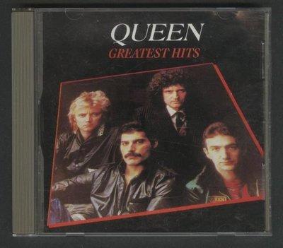 ///李仔糖CD唱片*1981年進口版.皇后合唱團.GREATEST HITS二手CD.共17首歌曲