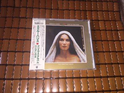 Emmylou Harris LIGHT OF THE STABLE 聖誕專輯 91年 日本版 見本品 全新未拆CD