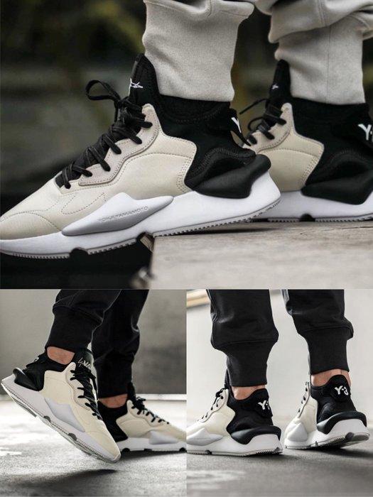 【Cheers】 Adidas Y-3 KAIWA 皮革 EF2546 熊貓 黑白 白黑 男 女鞋 限量 山本耀司