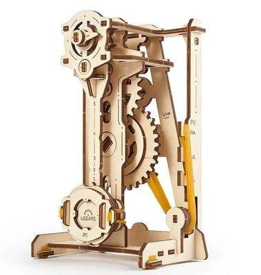Ugears STEM教育系列-鐘擺節拍器 DIY學習木質模型 AR擴增實境