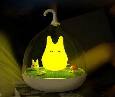 【小樺資訊】 1111購物節 耶誕 禮物 LED 龍貓燈 感應 觸控 節能 鳥籠 小夜燈 檯燈 手提燈 交換禮物