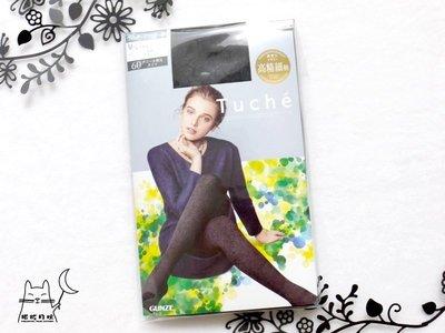 【拓拔月坊】GUNZE 郡是 Tuche 60丹 佩斯利變形蟲 滿版柄 褲襪 日本製~現貨!