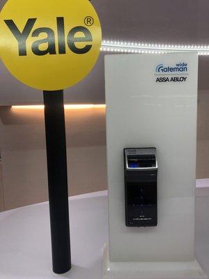 鎖庫智能家 原廠公司貨全新保固2年GATEMAN WF20(指紋、密碼、藍芽)到府安裝