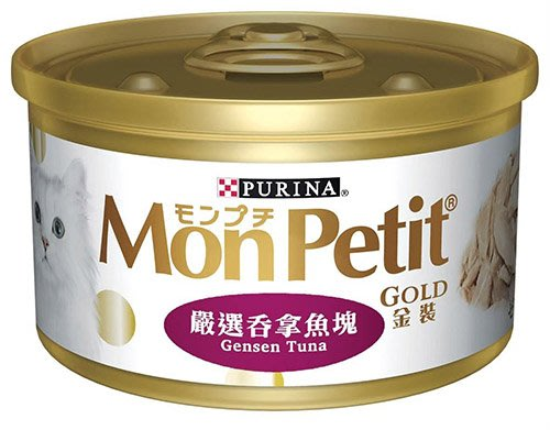 * WANG *【24罐組】PURINA【MonPetit 貓倍麗金罐】極品鮮肉貓罐85克