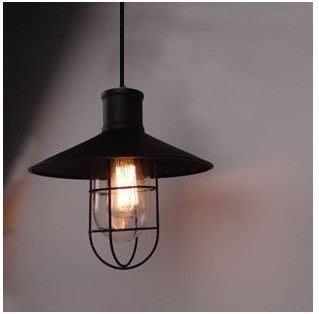 {美學}LOFT復古鐵藝玻璃吊燈 美式...