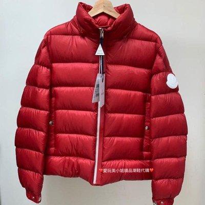 MONCLER 新男款 紅色羽絨外套
