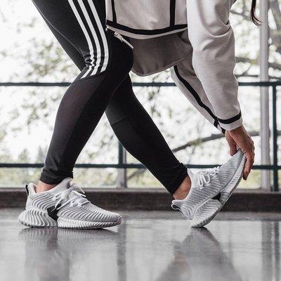 【吉米.tw】ADIDAS ALPHABOUNCE INSTINCT灰白 馬牌輪胎底 慢跑鞋 女鞋 CG5590 SEP