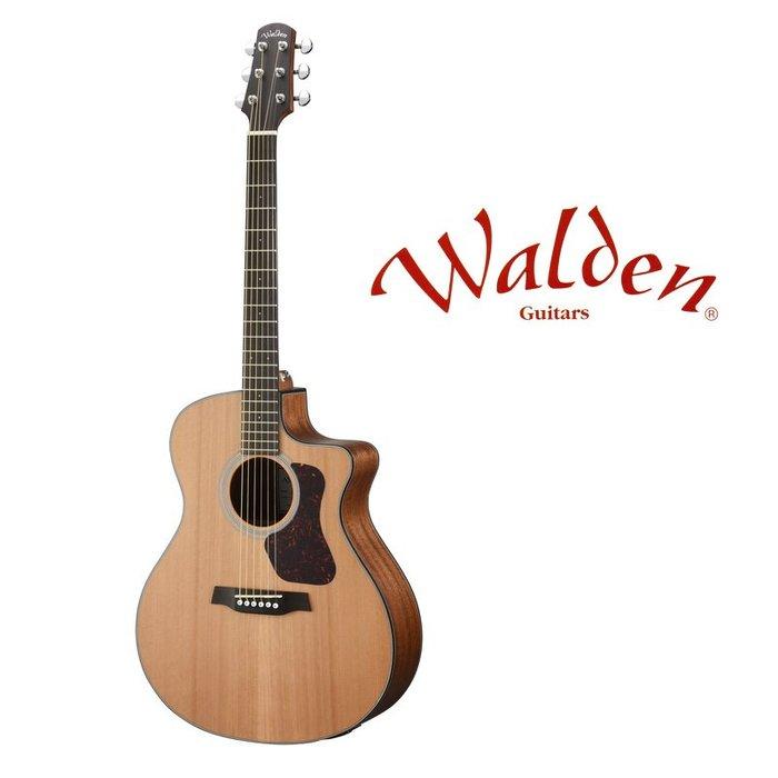 ☆唐尼樂器︵☆分期免運 Walden NATURA G570CE 西卡雲杉 面單板 GA 桶身 民謠吉他 電木吉他