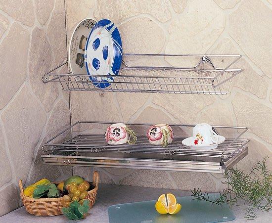 ☆成志金屬☆S-83-1B #304不銹鋼*大型*碗盤餐具置物架、瀝水架附不鏽鋼水盤。304不鏽鋼盤架、餐具架碗盤架