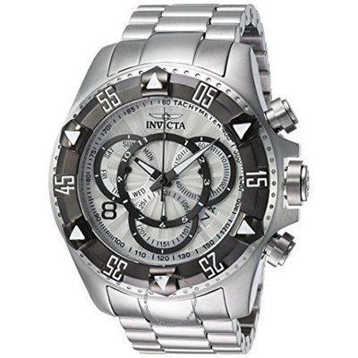 Invicta  Excursion 24262  Stainless Steel Chronograph  Watch