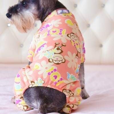 寵物衣 套腳狗狗衣服-秋冬可愛印花中小型犬寵物用品5色73ih5[獨家進口][米蘭精品]