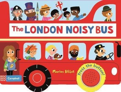 全新現貨 The London Noisy Bus 音效書