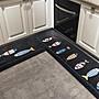 廚房地墊吸水防油地墊長條浴室防滑腳墊子進...