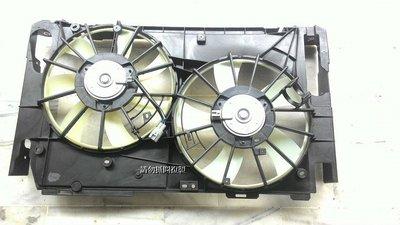 豐田 PREVIA 06-14 2.4 全新品 水箱 冷氣 散熱風扇總成...也可以單買馬達