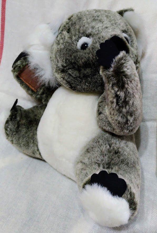 麗嬰房無尾熊絨毛玩偶造型擺飾