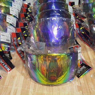Arai VAS-V 電鍍片 RX7X電鍍片 RX-7X 彩片 VASV 鏡片 RX7X電鍍彩片